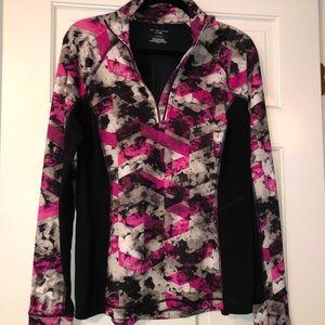 Dri-fit pullover jacket